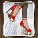 مدل های کفش پاشنه بلند مجلسی شیک 1392
