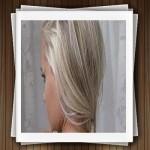 فرمول مدل رنگ موی نقره ای با هایلایت اسموکی