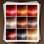 فرمول مدل رنگ موی دودی زیتونی