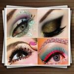 مدل های جدید  آرایش چشم و مژه زنانه برای مجالس