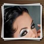 آموزش تصویری آرایش مدل چشم زنانه