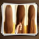 مدل بافت مو به روش ساده+آموزش تصویری