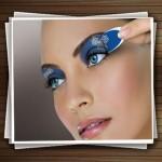 مدل های آرایش برای خانم های چشم آبی