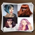 مدل های رنگ موی فانتزی زنانه جدید