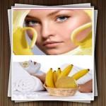 ماسک موز و روشی برای رفع چین و چروک صورت