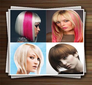 مدل مو دخترانه و مدل رنگ مو زنانه جدید - مدل های 2014 + عکس