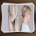 آموزش مدل بافت موی دم اسبی زنانه و دخترانه(به روش هلندی)
