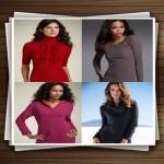 مدل های بلوز بافتنی زنانه و دخترانه 2014