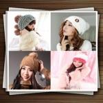 مدل کلاه بافتنی دخترانه و زنانه 2014