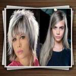 مدل های جدید رنگ موی خاکستری زنانه ۲۰۱۴