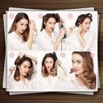 آموزش تصویری مدل مو زنانه جدید ۱۳۹۳