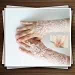 جدیدترین مدل دستکش عروس ۱۳۹۳