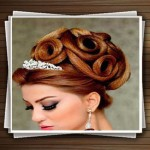 جدیدترین مدل موی عروس ۱۳۹۳